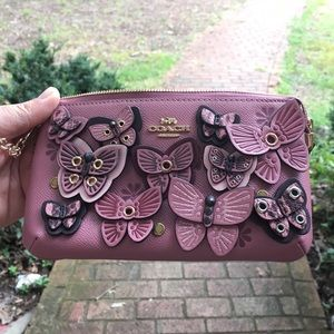 NWT AUTHENTIC COACH LARGE BUTTERFLY WRISTLET